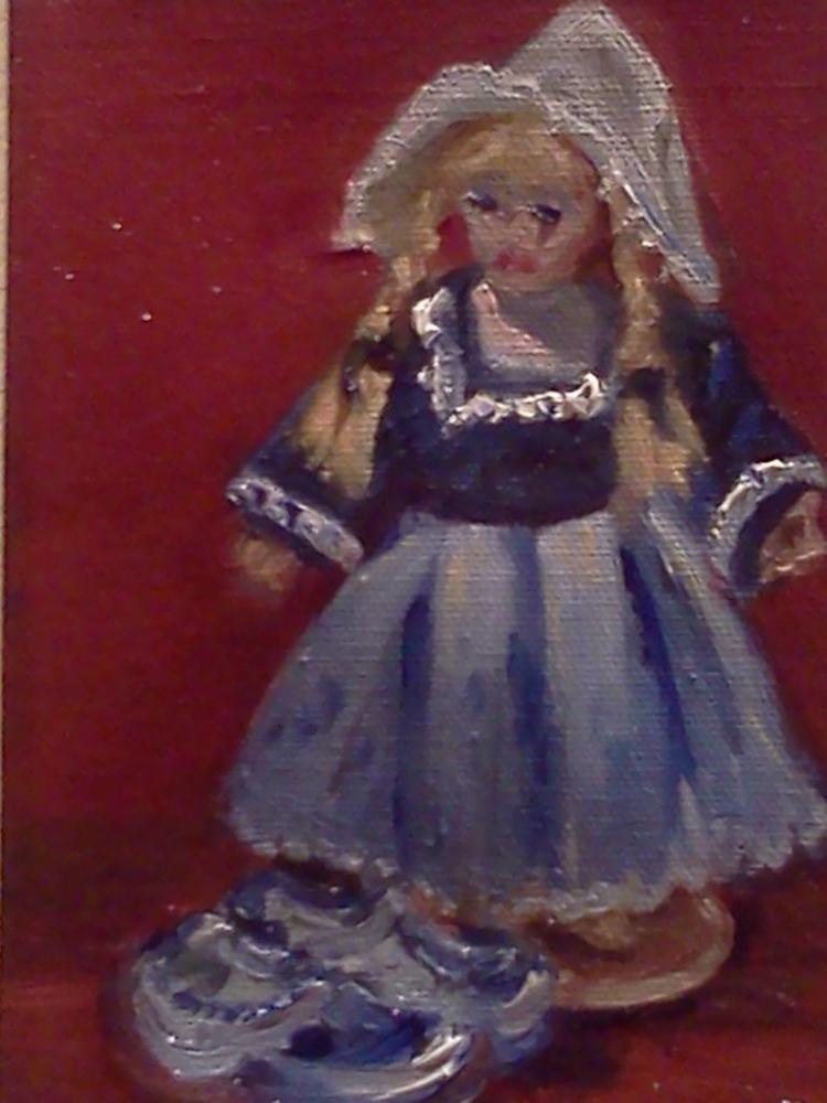 Dutch Doll with Shoes